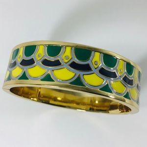 Talbots Enameled Gold Tone Bracelet